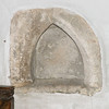 A small niche with a Norman Arch