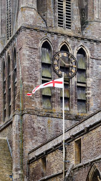 Bell Tower & Flag