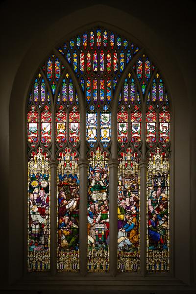 St Mary's Church Window, Witney