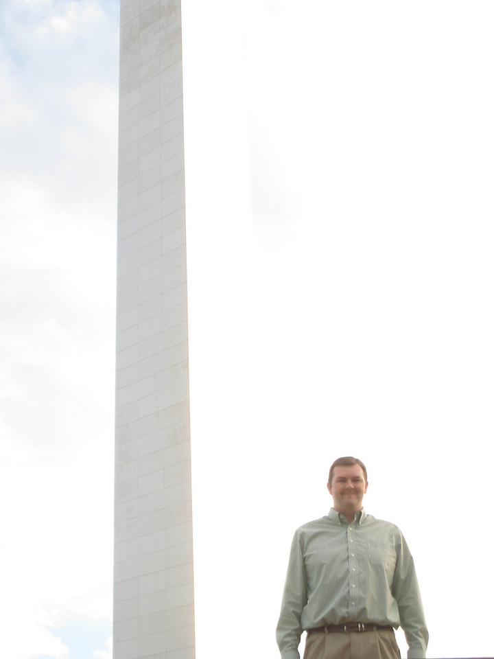 Me with the arch in the background