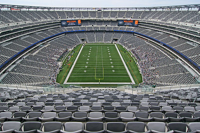 The new Meadowlands Football Stadium.