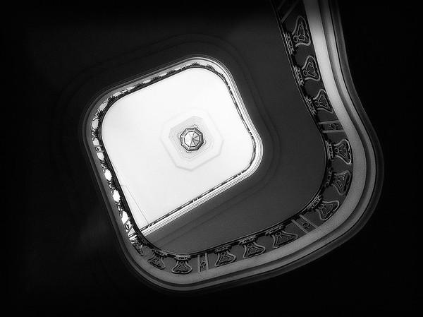 City Hall Spiral  Staircase #7a - Pasadena, CA, USA