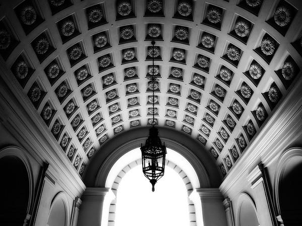 City Hall Ceiling #1a - Pasadena, CA, USA
