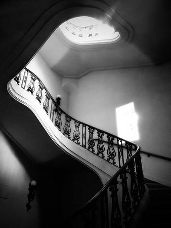 City Hall Staircase View #4a - Pasadena, CA, USA