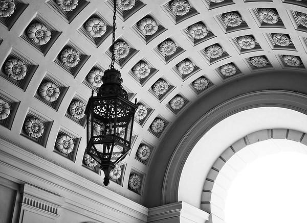 City Hall Ceiling #2a - Pasadena, CA, USA