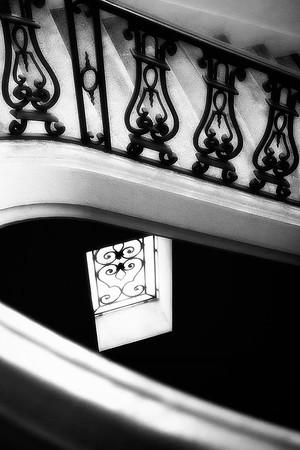 City Hall Staircase View #6a - Pasadena, CA, USA