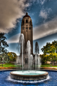 Stanford Hoover Tower Fountain