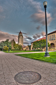 Stanford manhole