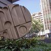 """""""Sun Disc"""" by Bernard Rosenthal in downtown Honolulu, O`ahu, Hawai`i"""