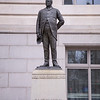 Statue of Alexander Robey Shepherd in front of the Washington, D.C. Gervernment Building
