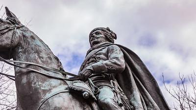 Statue of Brigadier General Casimir Pulaski in Washington, D.C.