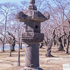 Pagoda at the planting of the first Japanese cherry trees, presented to the City of Washington as a gesture of friendship and good will by the city of Tokyo, planted March 27, 1912, Washington, D.C.
