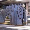 """""""Enchanting Garden"""" by Satoru Abe, 1997, in downtown Honolulu, O`ahu, Hawai`i"""