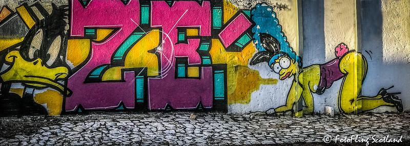 Station Graffiti - Olhao, Portugal