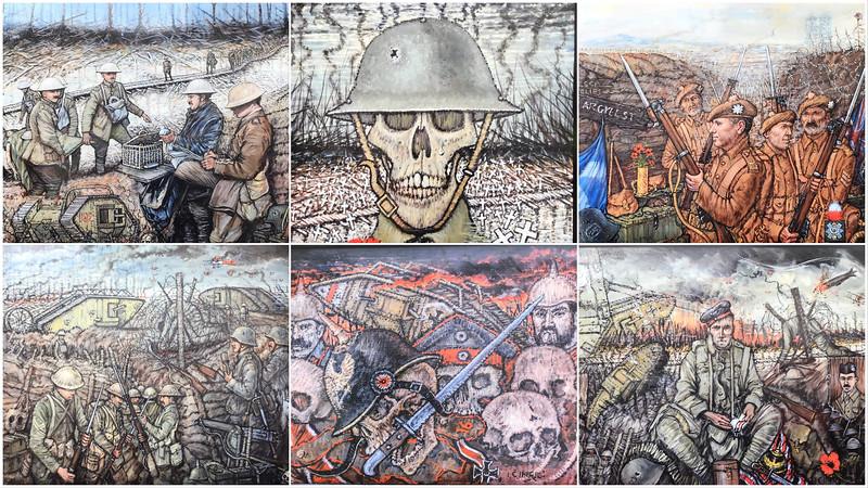 The Perth Murals Collage