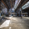 Glebe, Sydney, NSW, Australia<br /> Rozelle Tram Depot, Glebe. Opened in 1918; closed in 1958.