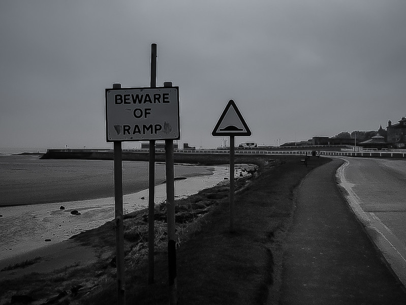 St Andrews, Scotland<br /> Beware of tramps.