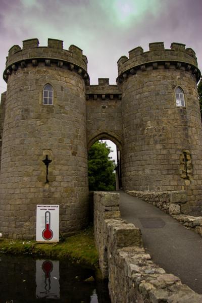 Whittington Castle, England<br /> Whittington Castle, England