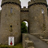 Whittington Castle, England<br /> Whittington Castle, England
