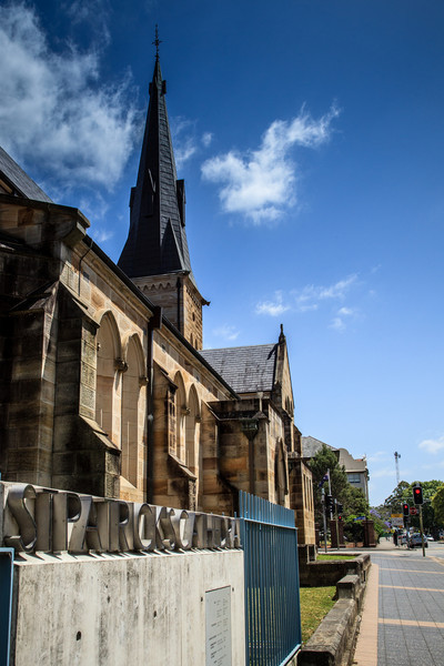 St Patrick's Cathedral, consecrated 1837.