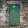 Edinburgh, Scotland<br /> Fire Exit.