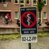 Leiden, The Netherlands<br /> No Parking.