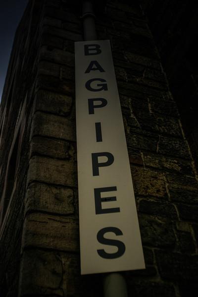 Edinburgh, Scotland<br /> Bagpipes.