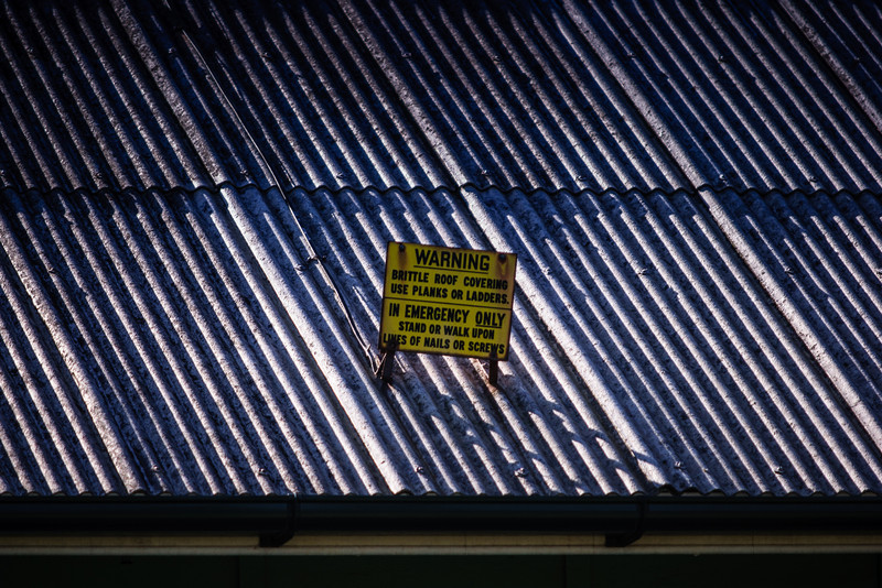 Sydney, Australia<br /> Brittle Roof at Newington Armory.