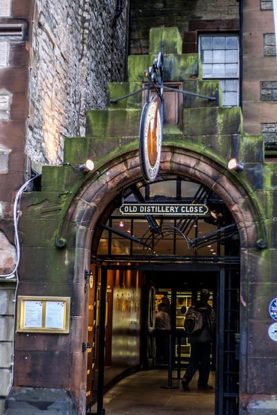 Old Distillery Close, Royal Mile, Edinburgh