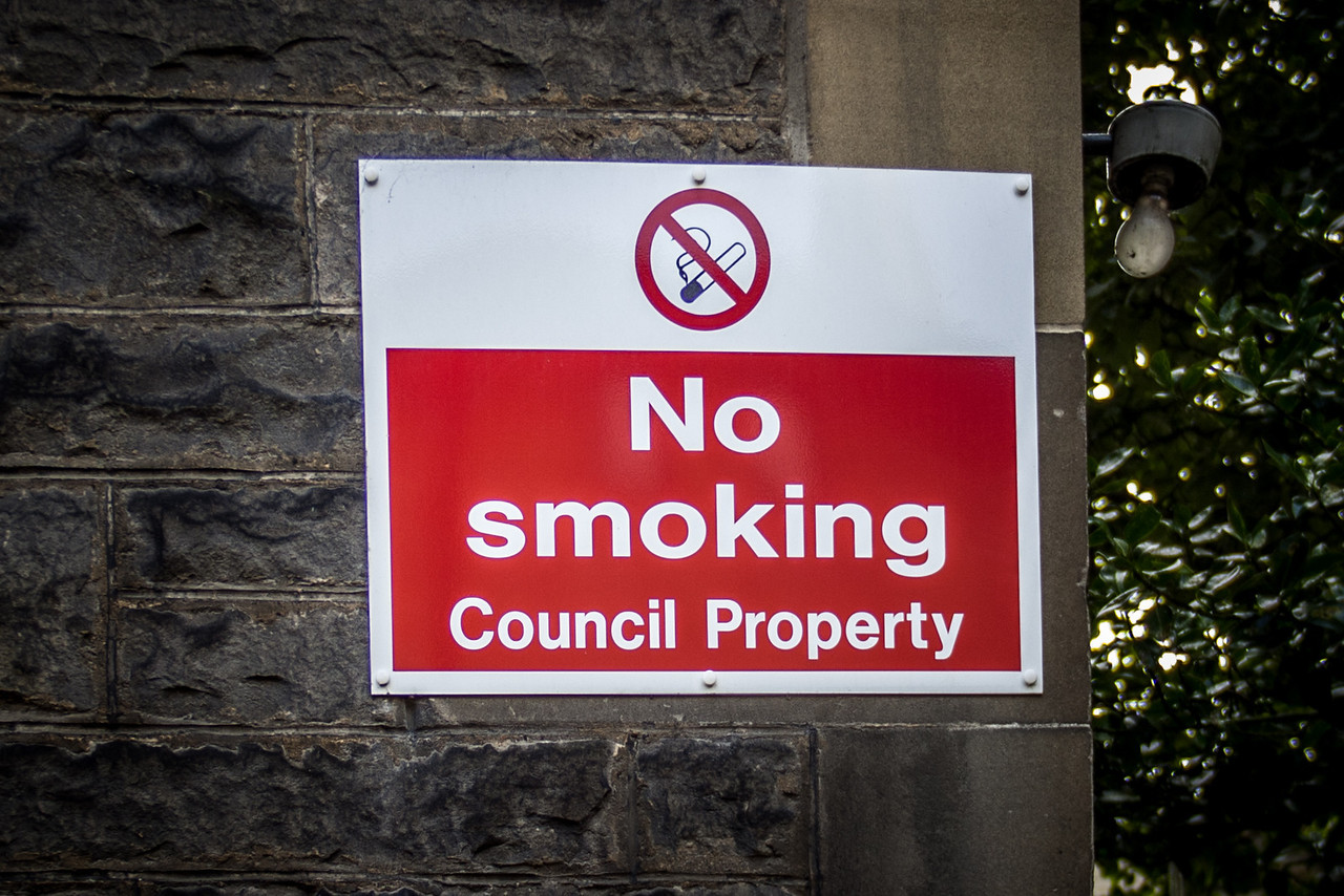Edinburgh, Scotland<br /> No smoking Council Property.