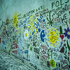 The John Lennon Wall in Malá Strana.
