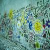 The John Lennon Wall in Malá Strana.