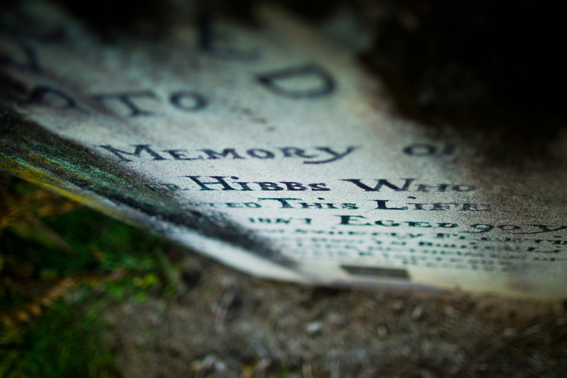 Grave, Wiseman's Ferry Cemetery.