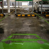 Sydney, NSW, Australia<br /> Hybrid Car Parking bays at Rhodes Shopping Centre.