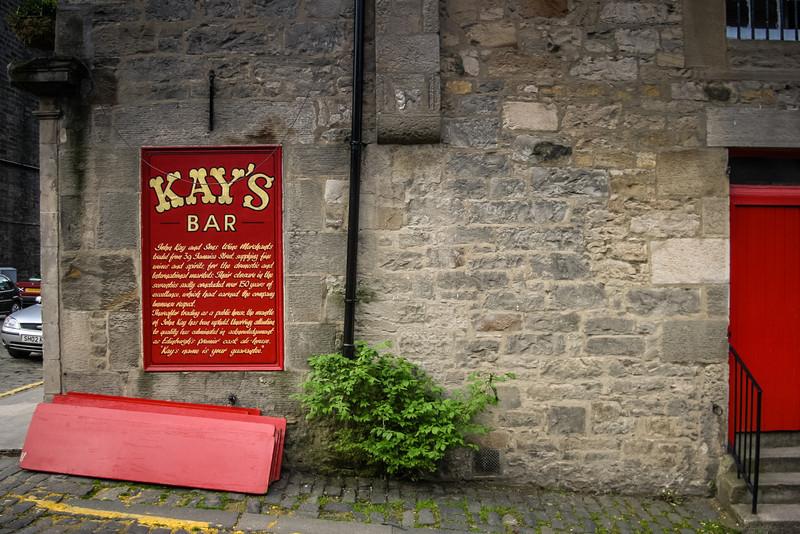 Kay's Bar, Edinburgh<br /> Kay's Bar, Edinburgh