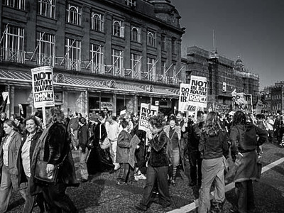 'Not in my Name' Protest, Edinburgh<br /> 'Not in my Name' Protest, Edinburgh
