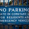 No parking. Croft-an-Righ, Abbeyhill.