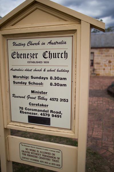 Ebeneezer Church, Australia