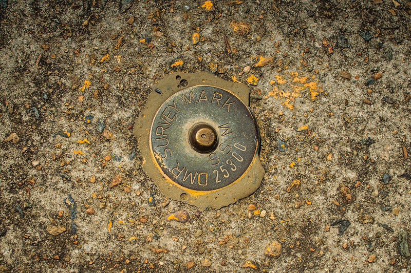 Ryde, Sydney, Australia<br /> State Survey Marker (DMR Survey Mark) 25300.