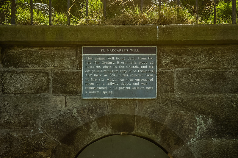 St Margaret's Well, Holyrood Park, Edinburgh