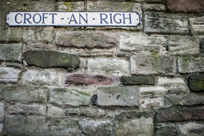 Edinburgh, Scotland<br /> Croft-an-Righ.