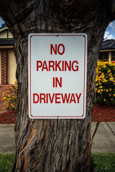Wentworthville, NSW, Australia<br /> No Parking in Driveway.