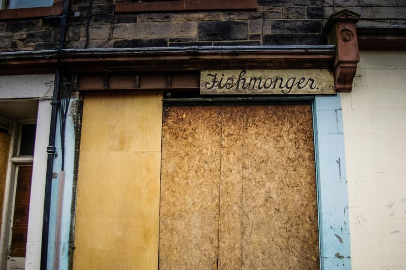 Portobello, Edinburgh, Scotland<br /> Closed.