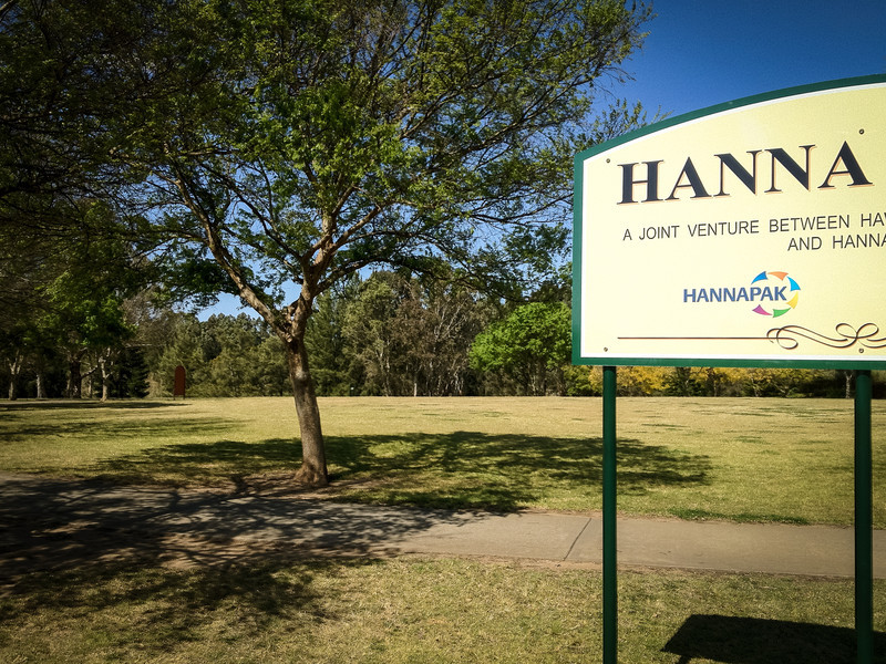 Hanna sponsors a number of the council's initiatives, including this park and the nearby North Richmond Skate Park.
