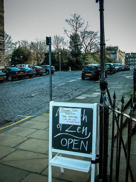 Edinburgh, Scotland<br /> Free massage anyone?