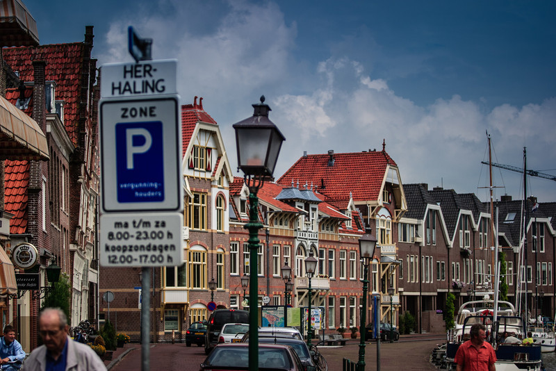Hoorn, The Netherlands<br /> By the harbour.