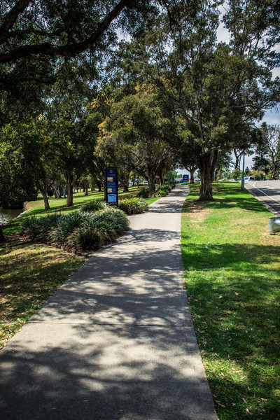 Parramatta, NSW, Australia<br /> Queens Wharf Park, site of the first landing in Parramatta.