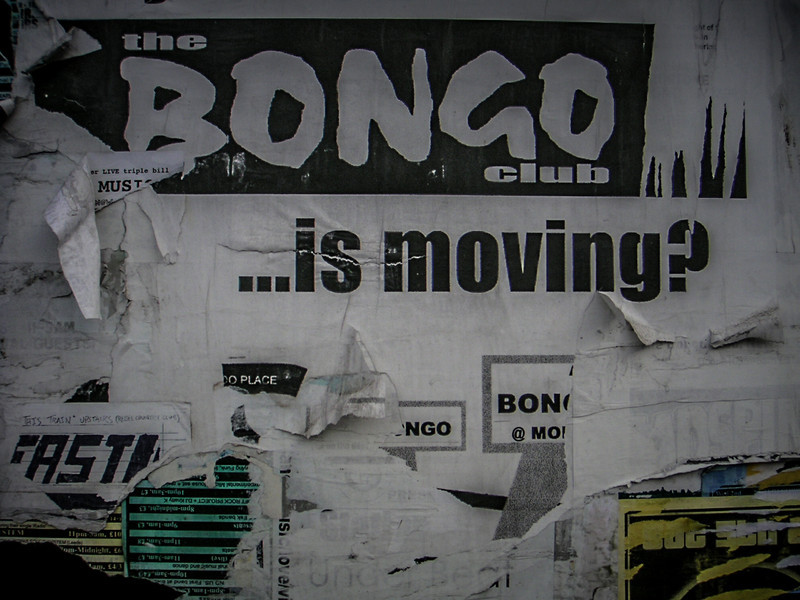 Edinburgh, Scotland<br /> Started in 1996, in 2003 the Bongo Club moved from premises in New Street to beautiful new location in Holyrood Road.