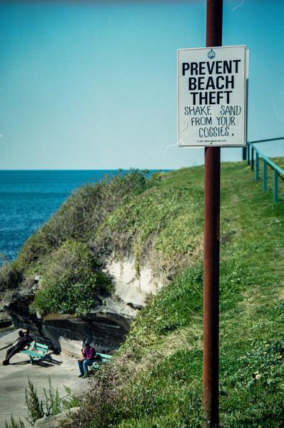 Sydney, Australia<br /> Prevent Beach Theft.