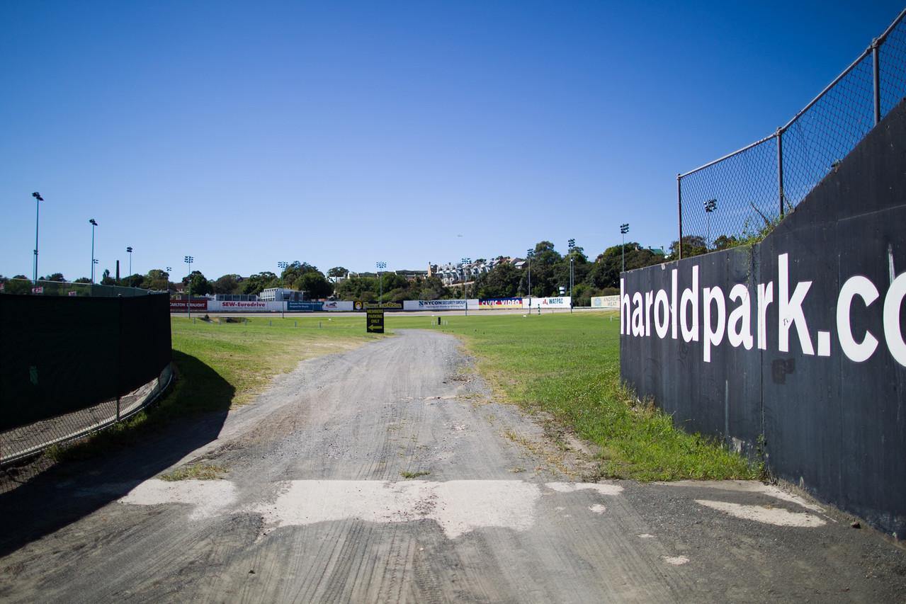 Glebe, Sydney, NSW, Australia<br /> Harold Park Paceway.
